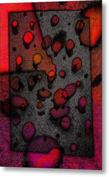 Pebbles On An Alien Beach Metal Print