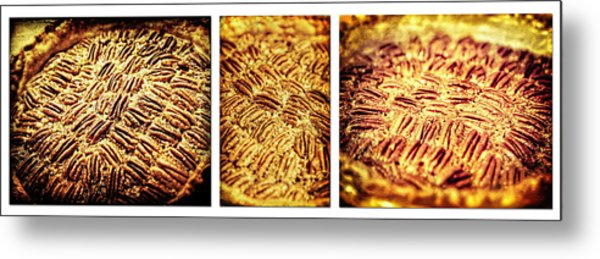 Pecan Pie Nostalgia Triptych By Lincoln Rogers Metal Print