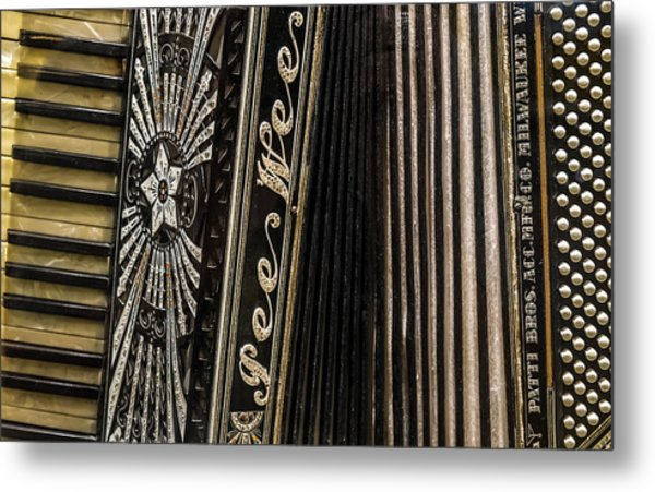 Pee Wee Accordion Metal Print