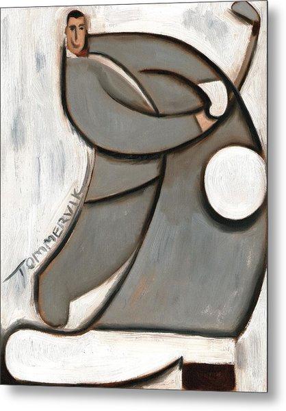 Pee-wee Herman Golf Swing Art Print Metal Print