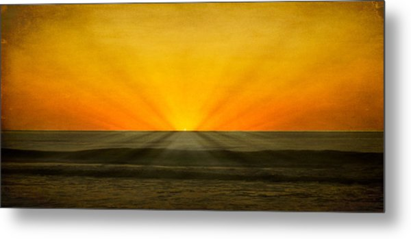 Peeking Over The Horizon Metal Print