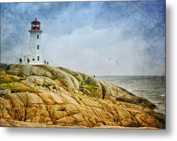 Peggy's Cove Lighthouse - 2 Metal Print