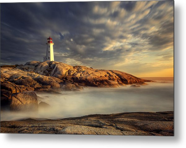 Peggy's Cove Nova Scotia Metal Print