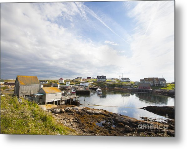 Peggys Cove Nova Scotia Metal Print