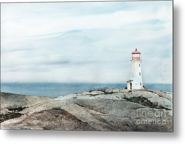 Peggy's Light Metal Print