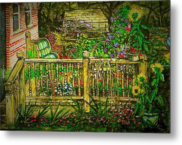 Peggy's Paradise Metal Print