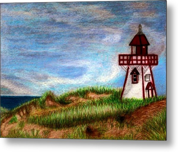 Pei Lighthouse Metal Print