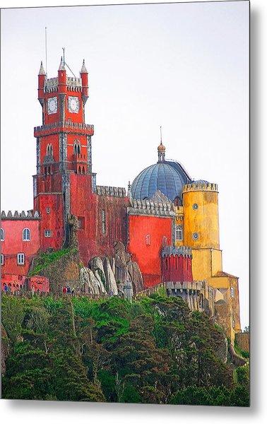 Pena Castle Metal Print