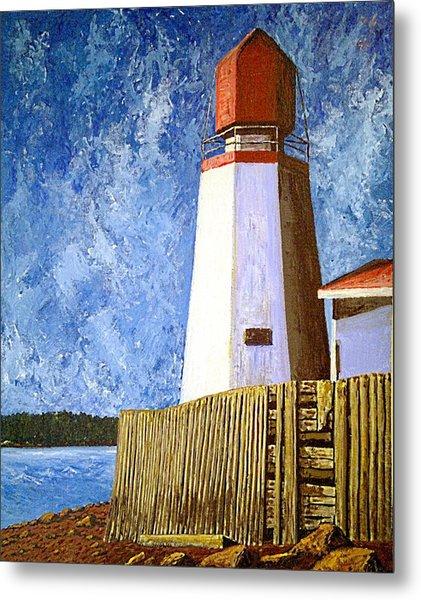 Pendlebury Lighthouse Metal Print