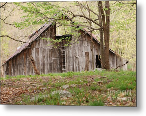 Pendleton County Barn Metal Print