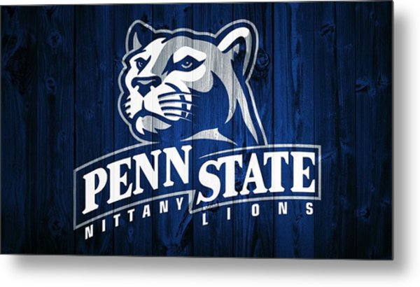 Penn State Barn Door Metal Print