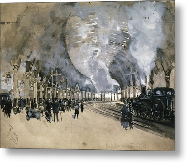 Pennell England, 1895 Metal Print