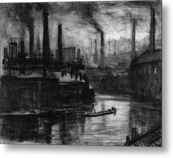 Pennell London, 1908 Metal Print