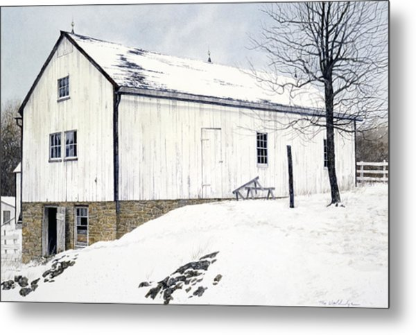 Pennsylvania Dutch Metal Print