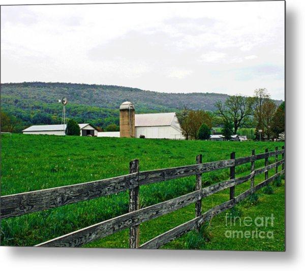 Pennsylvania Farm Metal Print