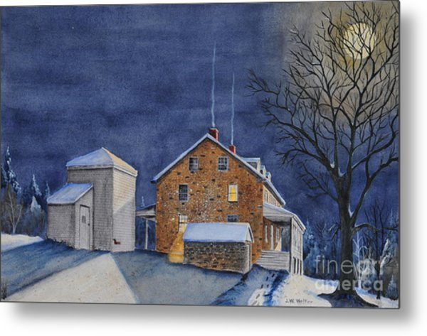Pennsylvania Moon Metal Print