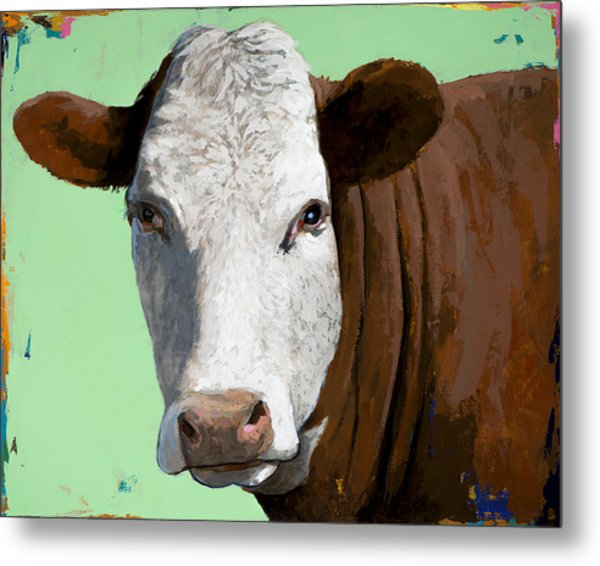 People Like Cows #14 Metal Print
