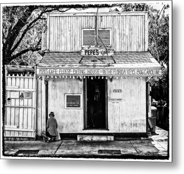 Pepes Cafe Metal Print