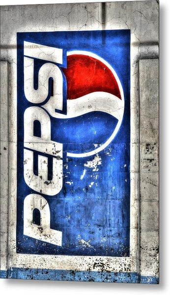 Pepsi Ala Puebla Metal Print