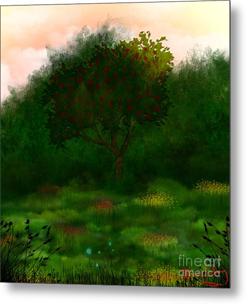 Perfect For A Picnic Metal Print