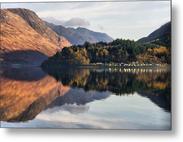 Perfect Reflections Metal Print