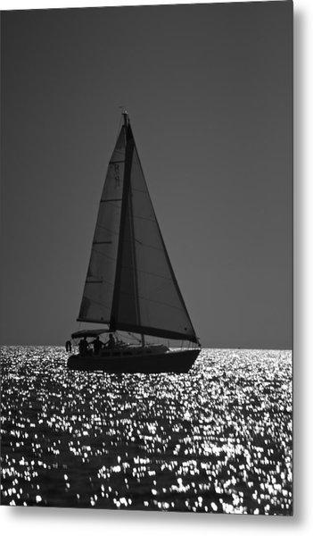 Perfect Sailing Metal Print