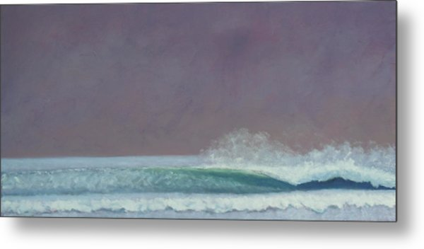 Perfect Wave Metal Print by Kent Pace