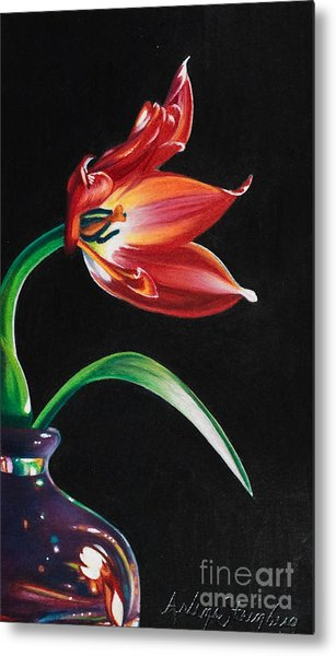 Perfumed Brilliance Metal Print by Arlene Steinberg