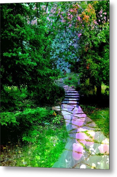 Perhaps It Will Come Metal Print by Shirley Sirois