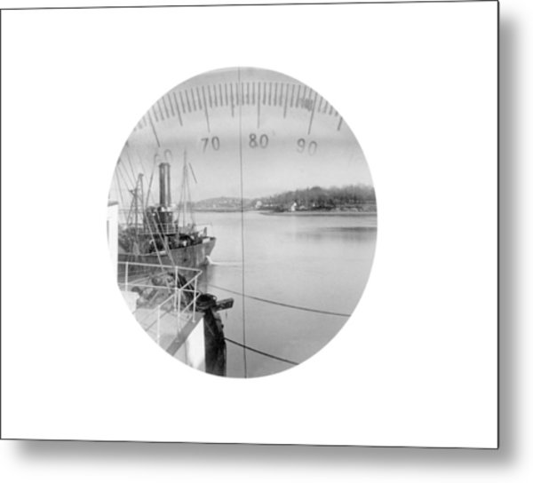 Periscope View, Early 20th Century Metal Print by Science Photo Library