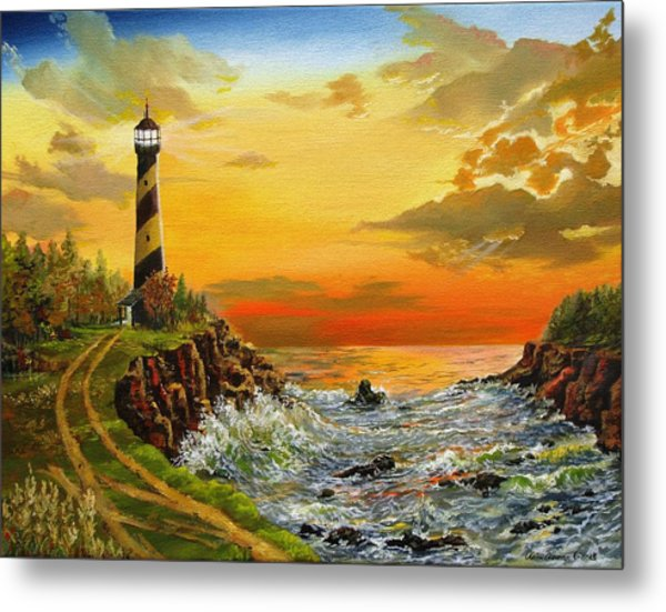 Perry's Point Metal Print