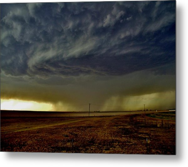 Perryton Supercell Metal Print