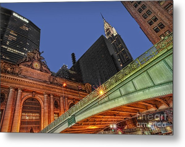 Pershing Square Metal Print