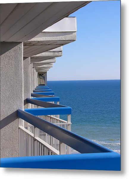 Perspective. Perception. Life. Metal Print