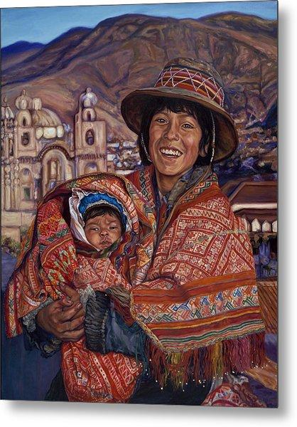 Peruvian Joy Metal Print