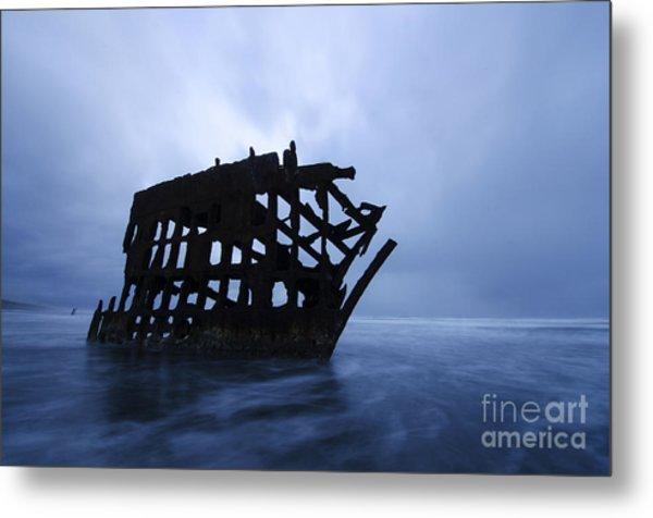 Peter Iredale Shipwreck Oregon 3 Metal Print
