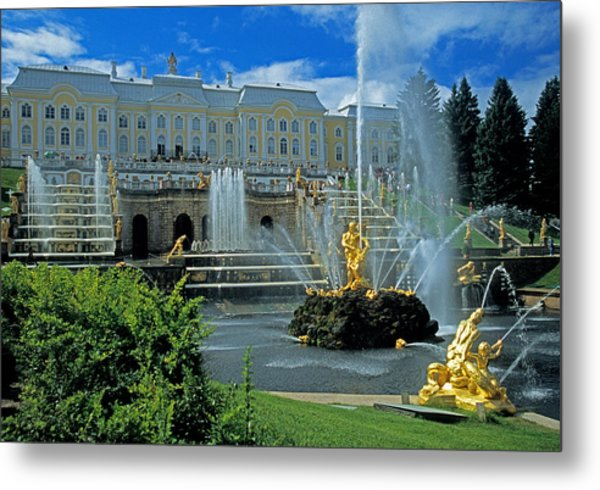 Peterhof Palace Metal Print