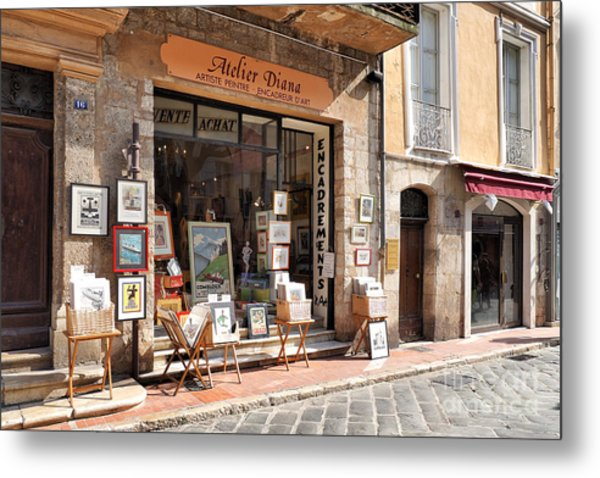 Petit Arts In France Metal Print