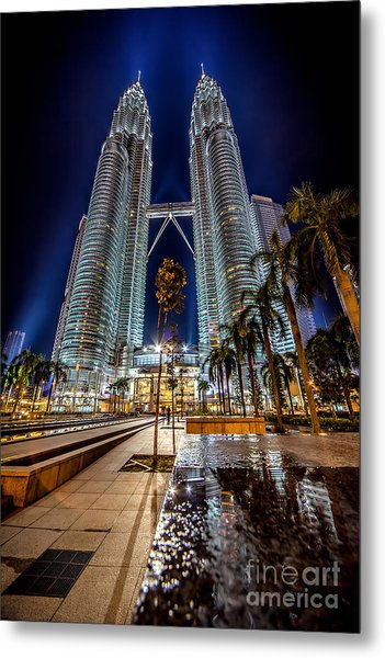 Petronas Twin Towers Metal Print