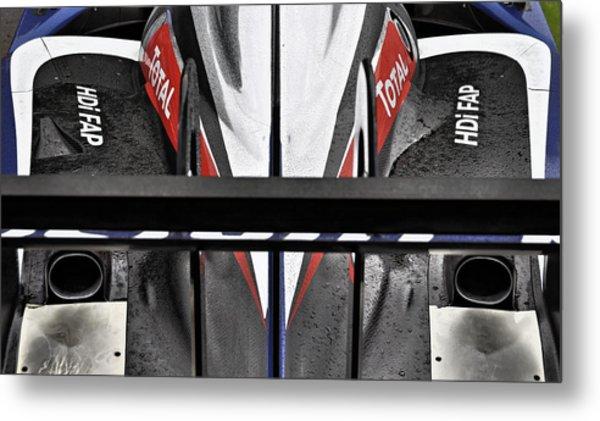 Peugeot Endurance Racing Car Metal Print