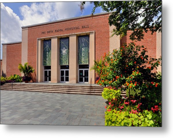 Phi Beta Kappa Hall Metal Print