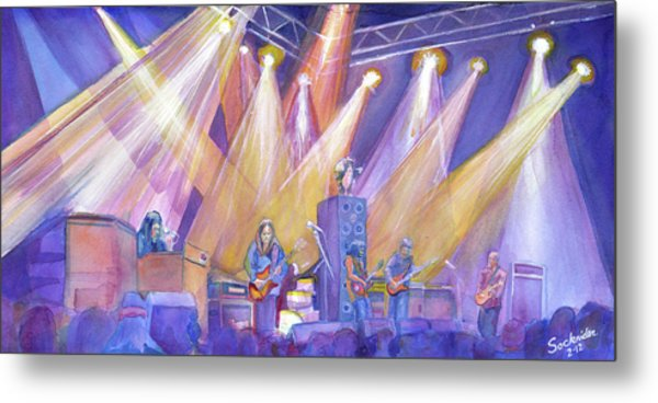 Phil And Friends Metal Print