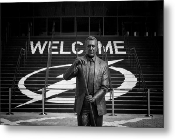 Phil Esposito Says Metal Print