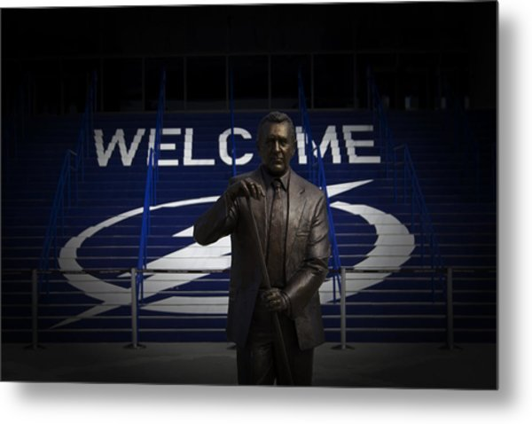 Phil Esposito Says II Metal Print