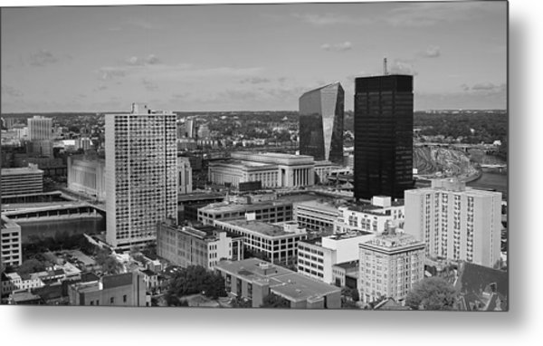 Philadelphia - A View Across The Schuylkill River Metal Print