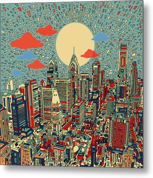 Philadelphia Dream 2 Metal Print