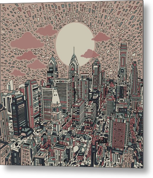 Philadelphia Dream 3 Metal Print