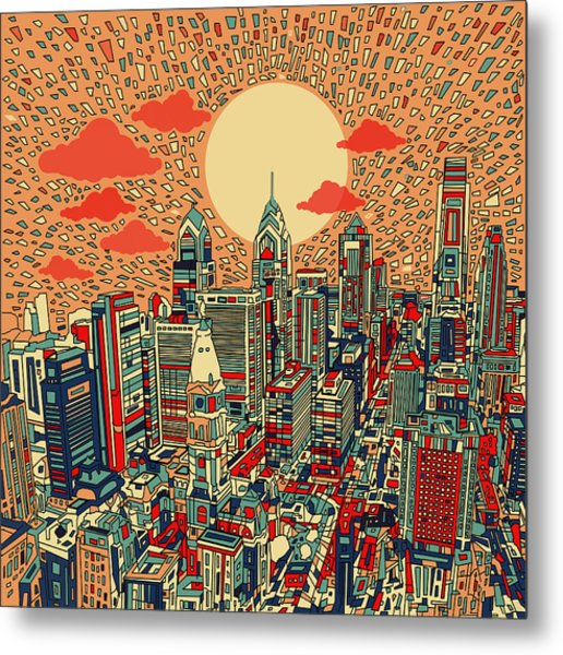 Philadelphia Dream Metal Print