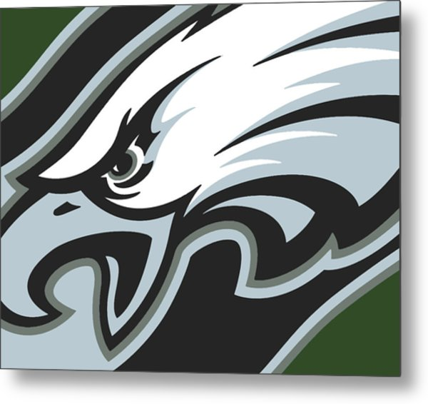 Philadelphia Eagles Football Metal Print