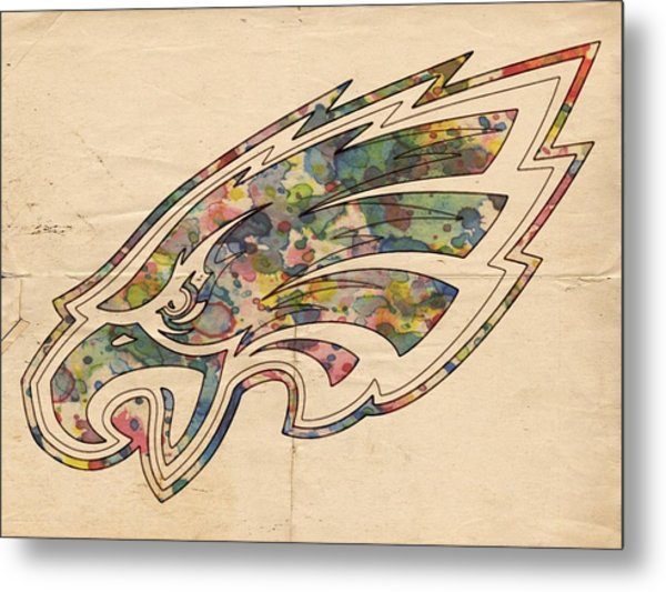Philadelphia Eagles Poster Vintage Metal Print